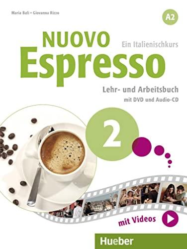 9783192054396: Nuovo Espresso A2. Lehr- und Arbeitsbuch mit DVD und Audio-CD: Ein Italienischkurs