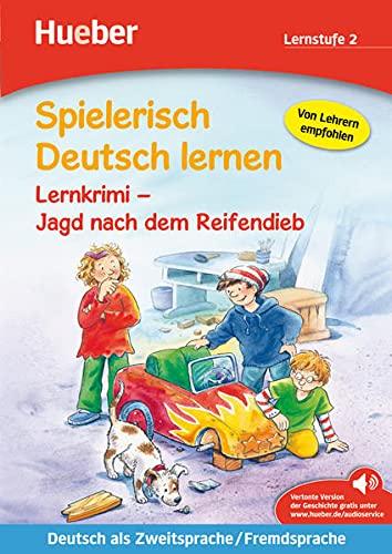 9783192094705: Spielerisch Deutsch Lernen: Jagd Nach Dem Reifendieb - Lernkrimi