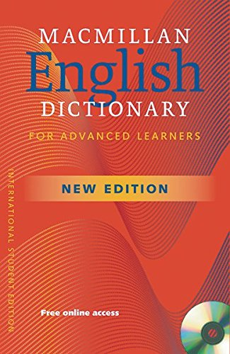 9783192128783: Macmillan English Dictionary for Advanced Learners - New: Second Edition/Hardback with CD-ROM