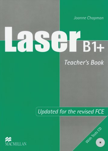 9783192129285: Laser B1+. Teacher's Book + Tests Audio-CD: Updated for the revised FCE