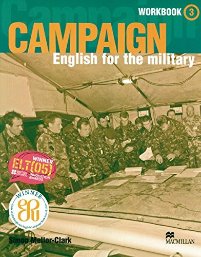 9783192129292: Campaign 3: English for the military / Workbook with Audio-CD