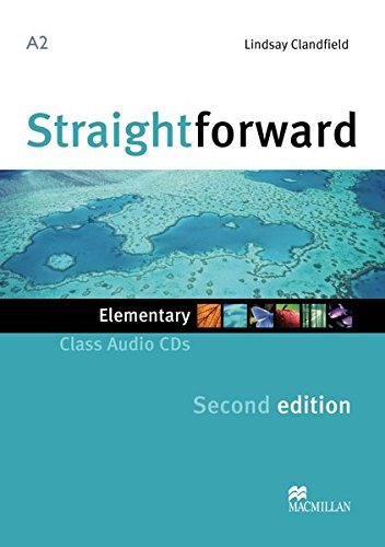 9783192129513: Straightforward. Elementary. Audio-CDs