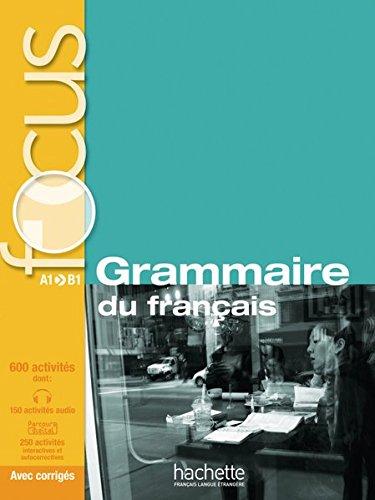 9783192133831: FOCUS Grammaire du français: Buch mit MP3-CD und Code zum Parcours digital® (mit Lösungsheft)