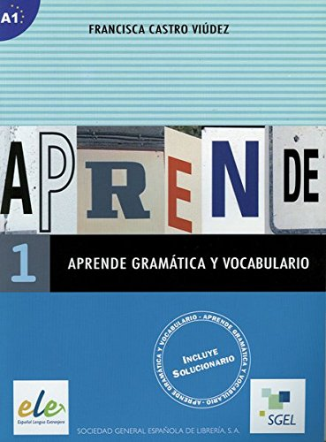 9783192145001: Aprende gramática y vocabulario 01: Buch (mit Lösungen)