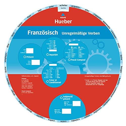 9783192195464: Wheel. Unregelmäßige Verben Französisch. Sprachdrehscheibe