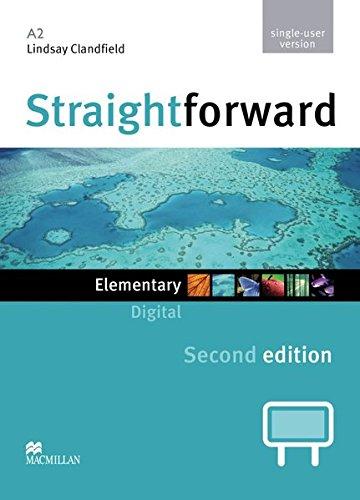 9783192229510: Straightfoward Sec. Ed. Elementary: Straightforward. Elementary. Digital Material for Teachers (DVD-ROM single-user version)