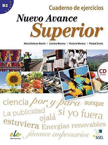 9783192245046: Nuevo Avance Superior. Curso de Espa�ol. Arbeitsbuch mit Audio-CD