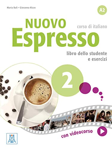 Nuovo Espresso 02 - einsprachige Ausgabe Schweiz. Buch mit DVD-ROM: Maria Bali, Giovanna Rizzo