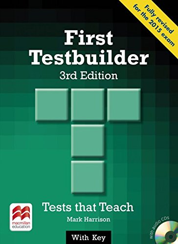 9783192325953: First Testbuilder. Student's Book with Audio-CDs (with Key)