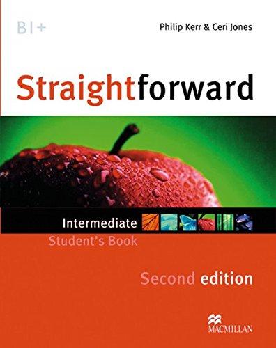 9783192329531: Straightforward Intermediate. Student's Book, Workbook, Audio-CD and Webcode