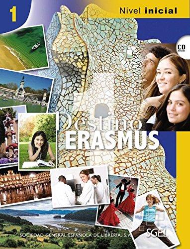 9783192345067: Destino ERASMUS 01. Kursbuch mit Audio-CD