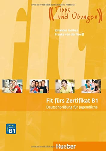 9783192416514: FIT FÜRS ZERTIFIKAT.B1 Jugendl.(L.+MP3)