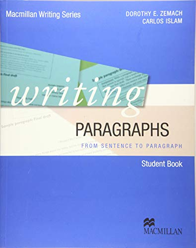 9783192425769: Writing Paragraphs. Student's Book: from sentence to paragraph