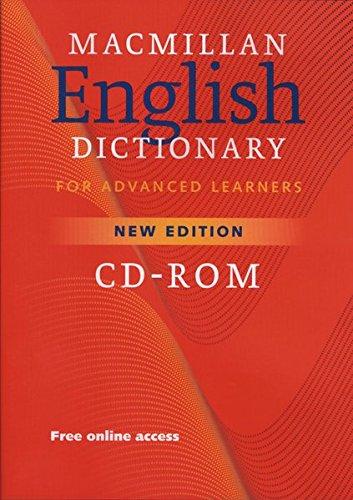 Macmillan English Dictionary for Advanced Learners. CD-ROM für Windows Vista/XP/2000...