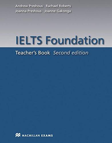 9783192428951: IELTS Foundation. Teacher's Book