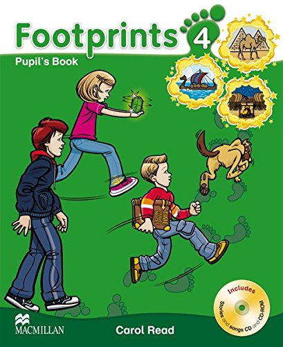9783192429200: Footprints 4. Pupil's Book
