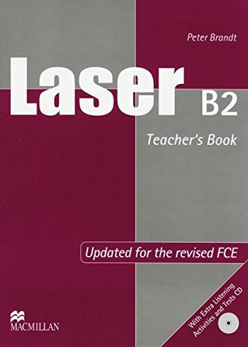 Laser B2. Teacher's Book + Test + Audio-CDs (3192529288) by Brandt, Peter