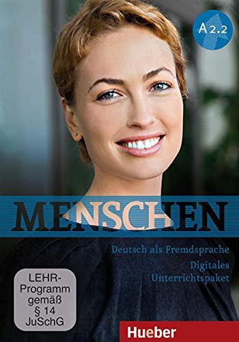 9783192619021: Menschen Sechsbandige Ausgabe: Digitales Unterrichtspaket A2.2 Dvd-rom (German Edition)
