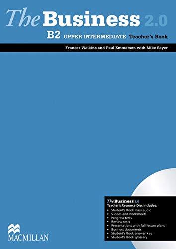 9783192629174: The Business 2.0 Upper intermediate. Teacher's Book with DVD-ROM