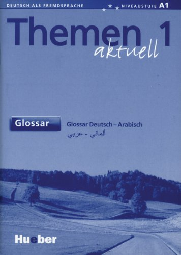 9783192716904: Themen Aktuell: Glossar Deutsch - Arabisch (German Edition)