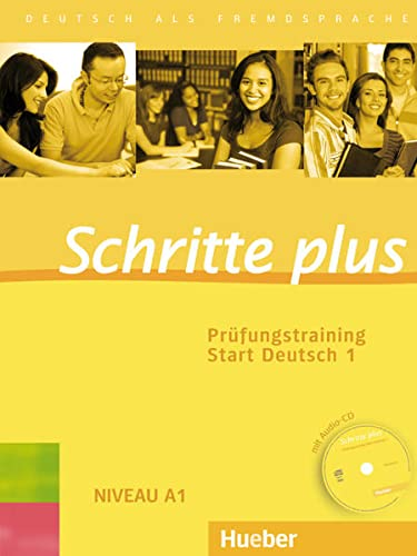 9783192719110: Schritte plus. Prüfungstraining Start Deutsch 1