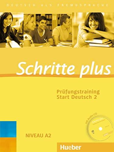 9783192719141: Schritte plus. Prüfungstraining Start Deutsch 2: Deutsch als Fremdsprache