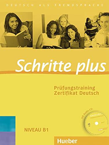 9783192719158: Schritte plus. Prüfungstraining Zertifikat Deutsch mit Audio-CD