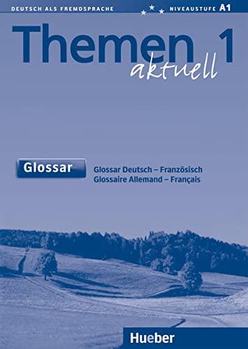 9783192816901: Themen Aktuell: Glossar Deutsch- Franzosisch