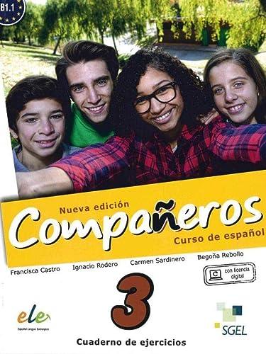 9783192845024: Compañeros Nuevo 3. Arbeitsbuch: Arbeitsbuch - Cuaderno de ejercicios (con licencia digital)
