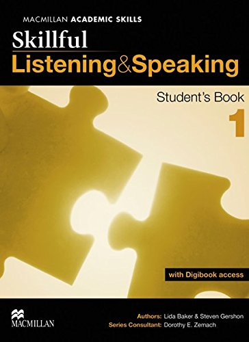 9783192925764: Skillful Level 1. Listening and Speaking. Student's Book with digibook (ebook with additional practice area and video material)