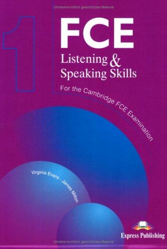 9783192929038: FCE Listening and Speaking Skills 1. Student's Book