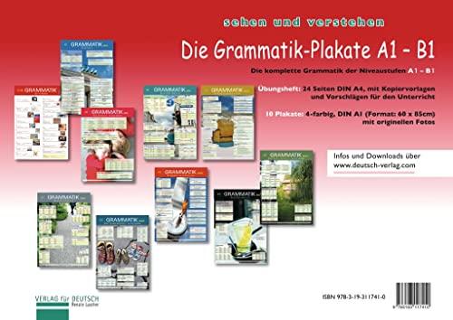 9783193117410: Die Grammatik-Plakate: Die Grammatik-Plakate A1 - B1 ...
