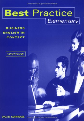 9783193129246: Best Practice Elementary Workbook