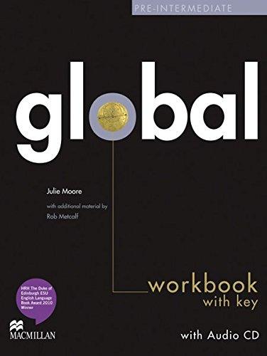 9783193129802: Global. Pre-Intermediate / Workbook with Audio-CD and Key