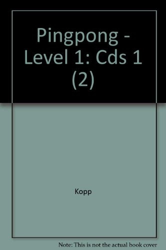 Pingpong - Level 1: Cds 1 (2): Kopp; Fro>lich