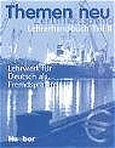 9783193315236: Themen neu, Zertifikatsband, Lehrerhandbuch (German Edition)