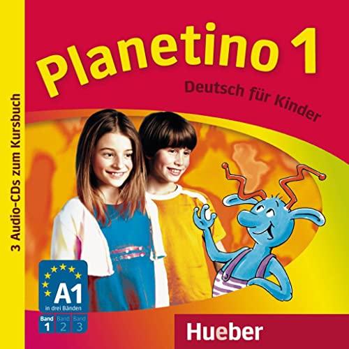 9783193315779: Planetino. Deutsch für Kinder. Audio-CDs zum Kursbuch. Per la Scuola elementare: Planetino 1: Deutsch für Kinder.Deutsch als Fremdsprache / 3 Audio-CDs zum Kursbuch