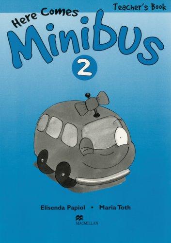 9783193329738: Here comes Minibus 2. Teacher's Book