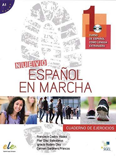 9783193345035: Nuevo Español en marcha 1. Arbeitsbuch mit Audio-CD