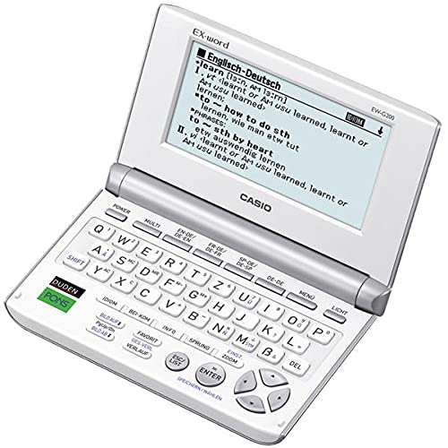 9783193395870: CASIO EX-word EW-G200
