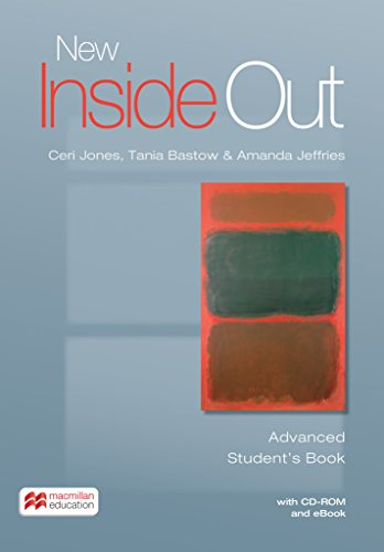 9783193429704: New Inside Out. Advanced / Student's Book with ebook and CD-ROM