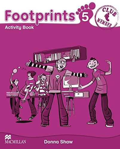 9783193529206: Footprints 5 Activity Book