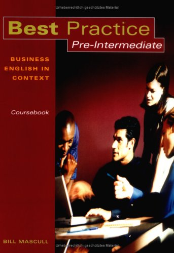 9783193529244: Best Practice Pre-Intermediate Coursebook