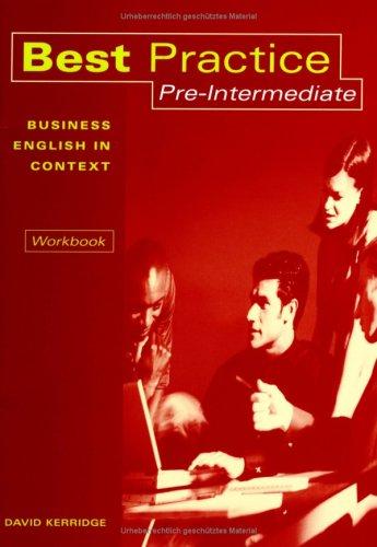 9783193629241: Best Practice Pre-Intermediate Workbook