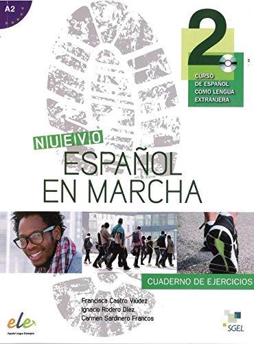9783193645036: Nuevo Español en marcha 2. Arbeitsbuch mit Audio-CD: Curso de español como lengua extranjera