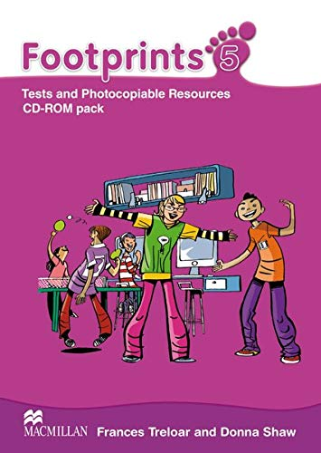 9783193729200: Footprints 5. Tests and Photocopiable Resources CD-ROM Pack