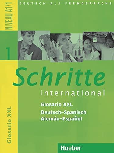 Schritte international 1. Glosario XXL Deutsch-Spanisch -