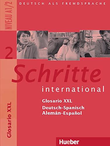 Schritte international 2. Glosario XXL Deutsch-Spanisch -