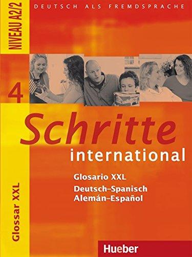 Schritte international 4. Glosario XXL Deutsch-Spanisch -