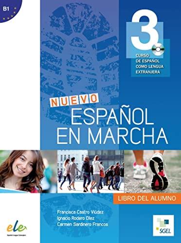 9783193845030: Nuevo Español en marcha 3. Kursbuch mit Audio-CD: Curso de español como lengua extranjera